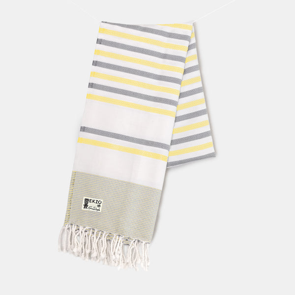 Shades of Yellow - Beach Towel