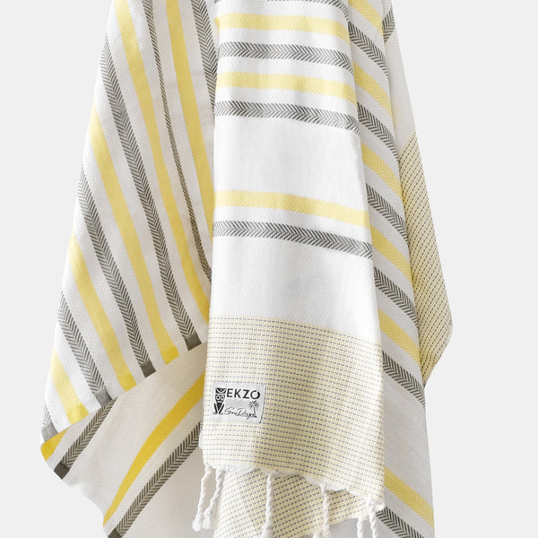 Shades of Yellow - Beach Towel - EKZO