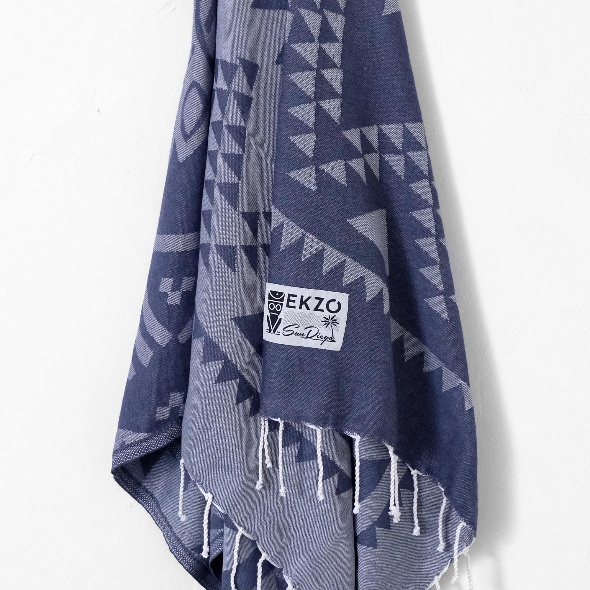 Rhapsody Blues - Beach Towel - EKZO
