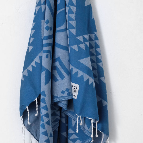 Rhapsody Teal - Beach Towel - EKZO
