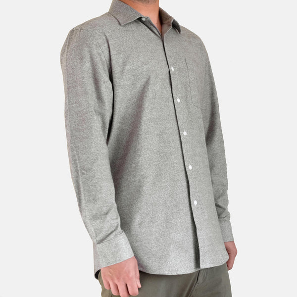 Flannel Shirt Heather Sage