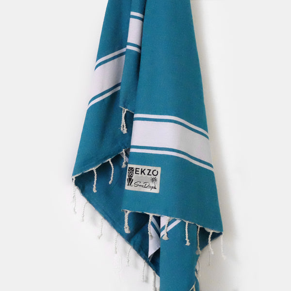 Deep Blue Sea - Beach Towel - EKZO