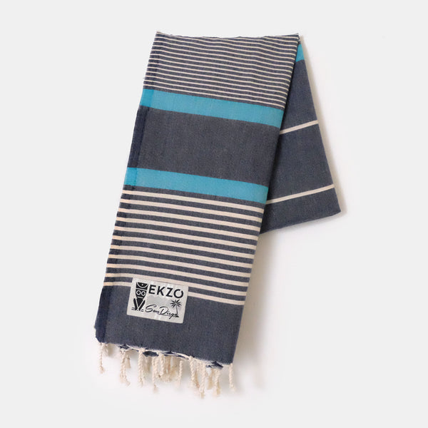 Designer Blue - Beach Towel - EKZO