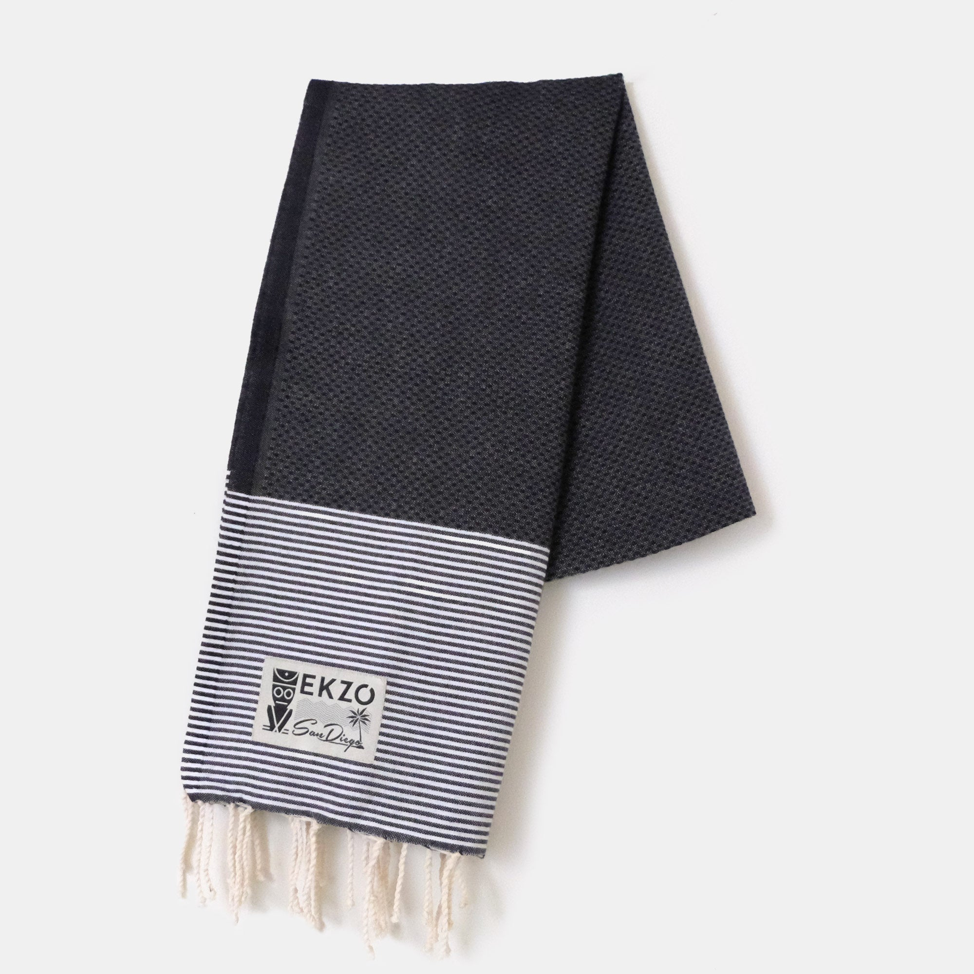 Honeycomb Midnight - Beach Towel - EKZO