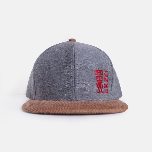 Corduroy Hat - Gray