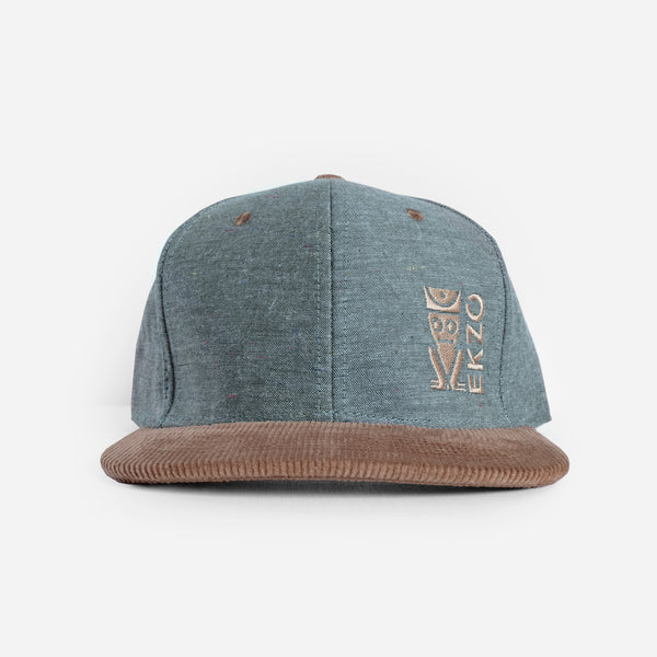 Corduroy Hat - Green