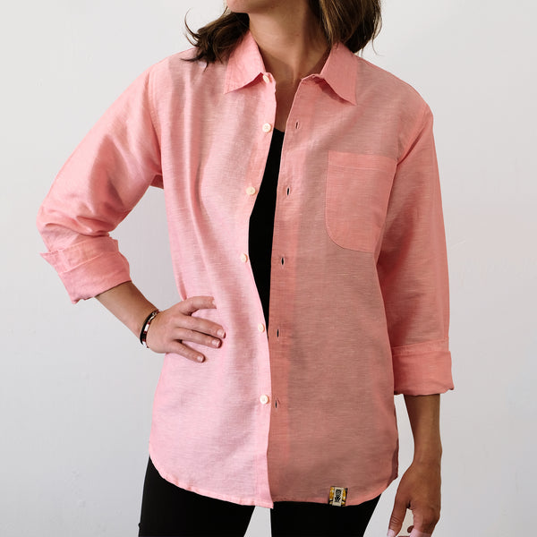 Pink Long Sleeve Shirt - EKZO