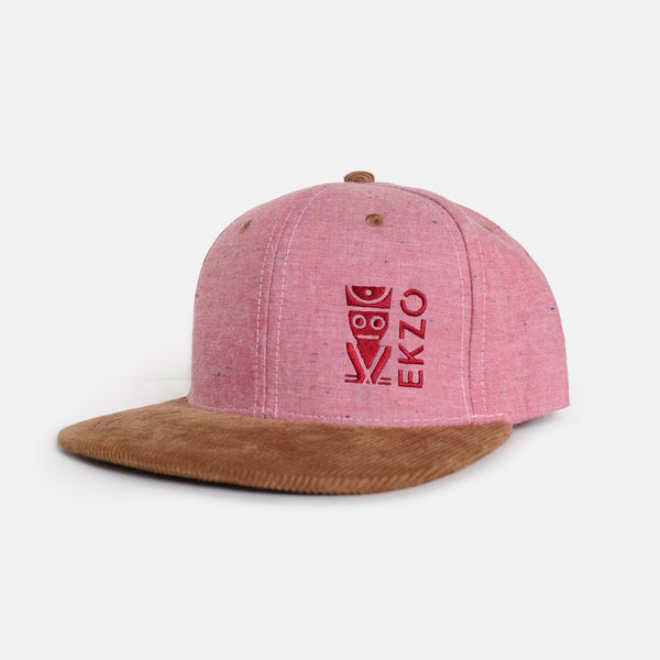 Corduroy Hat - Red - EKZO