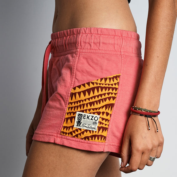 Pocketed Shorts on Watermelon - EKZO