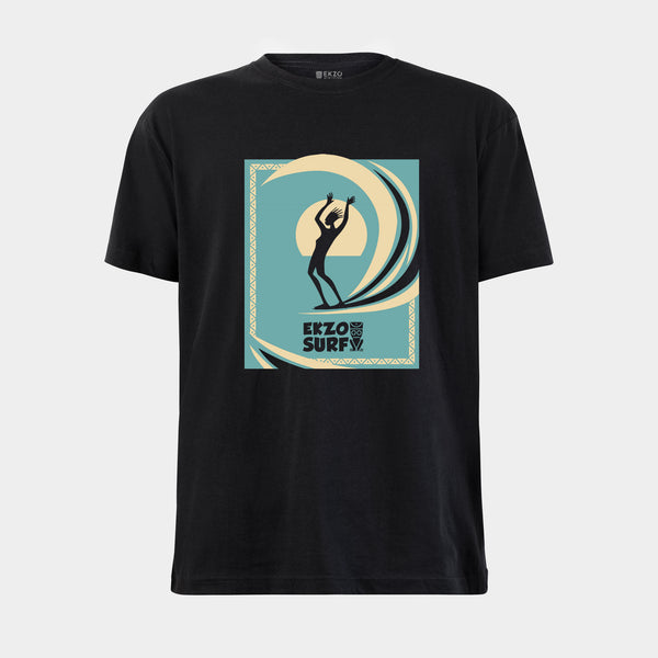 EKZO Surf Tee 2.0 in Blue - EKZO