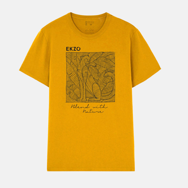 Blend with Nature T-shirt Mustard