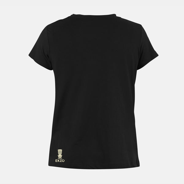 Explorer Tee - Scoop Neck Long wave Black - EKZO