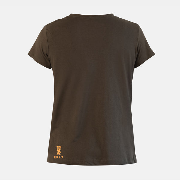Explorer Tee - Scoop Neck Army - EKZO