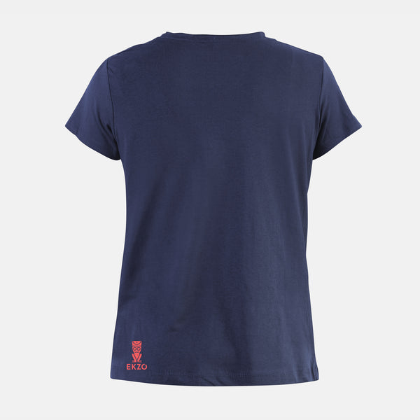Explorer Tee - Scoop Neck Denim - EKZO