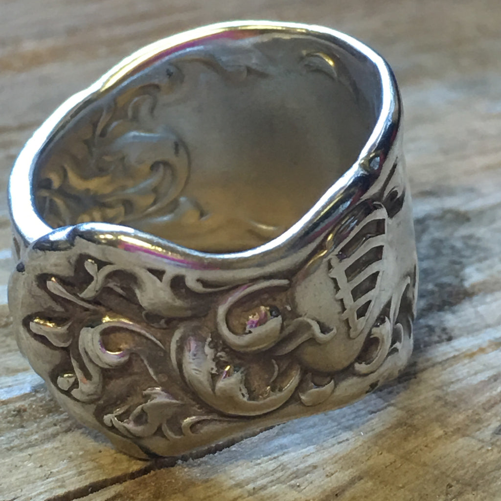 Knight in Shining Armor 2-Sided Spoon Ring