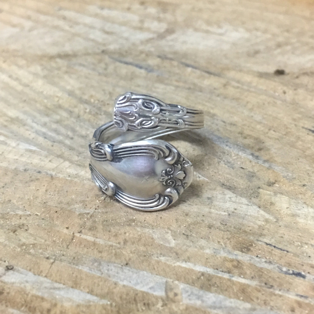 Sterling Wrap Spoon Ring