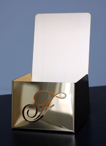 Fairmont Brochure Holder