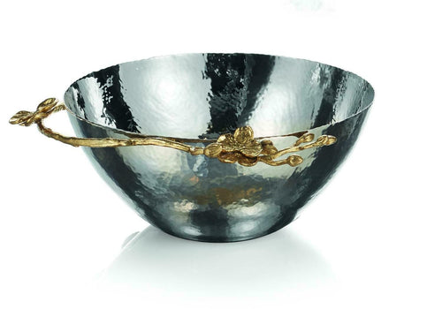 BOWL MEDIUM GOLDEN ORCHID