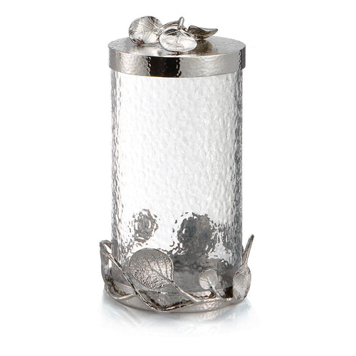 Botanical Leaf Canister Large