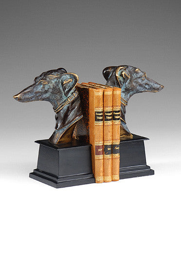 DOG BOOKENDS (PAIR)