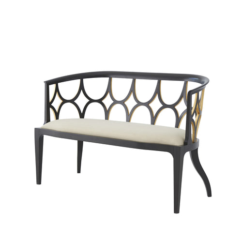 Ebonised Connaught Settee