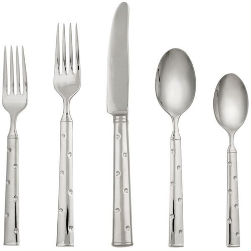 kate spade new york Larabee Dot 5-piece Flatware Place Setting by Lenox