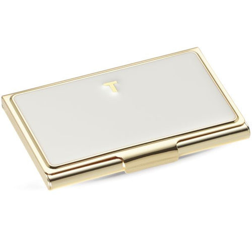 kate spade new york Business Card Holder - T by Lenox