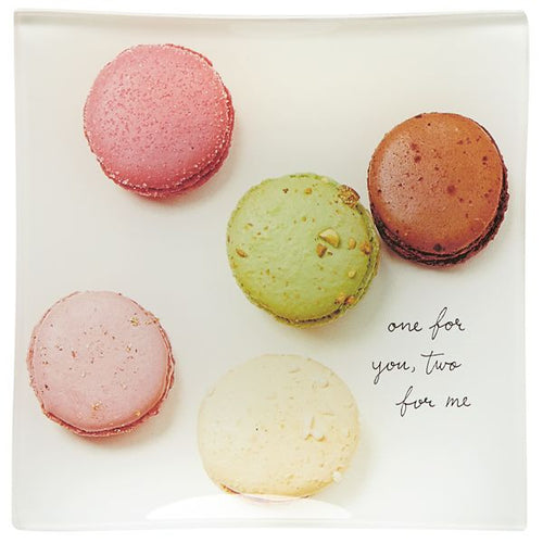 KATE SPADE NEW YORK SNAP HAPPY MACAROONS SQUARE TRAY BY LENOX