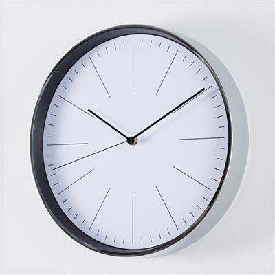 Purist Wall Clock - Chrome