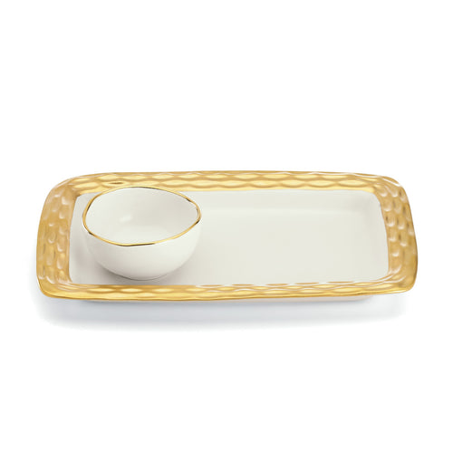 MICHAEL WAINWRIGHT TRURO GOLD HUMMUS SET