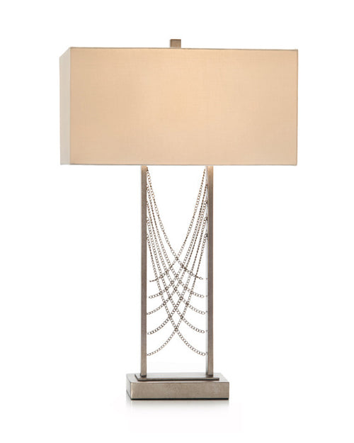 Chained Table Lamp