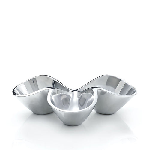 BELLA TRIPLE CONDIMENT SERVER