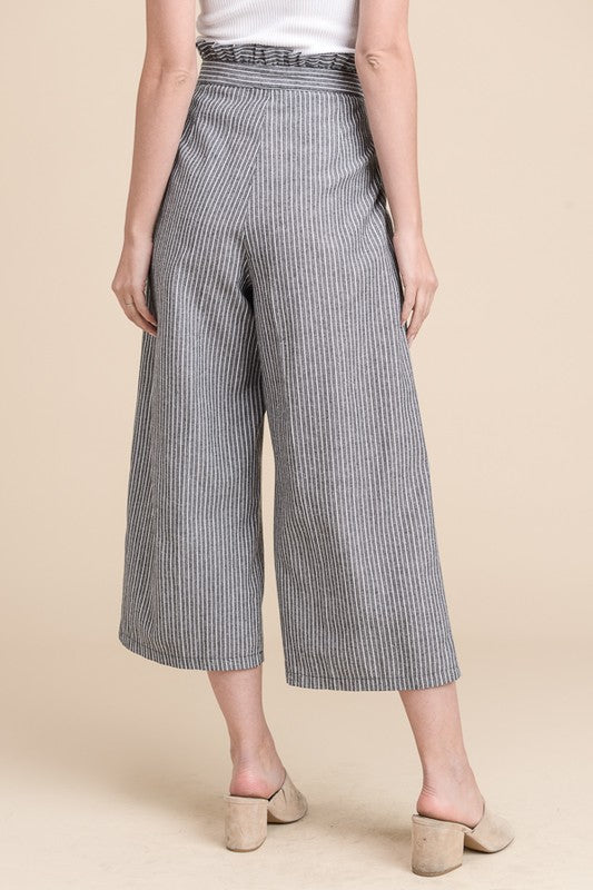 High-Waist Fashion Trousers