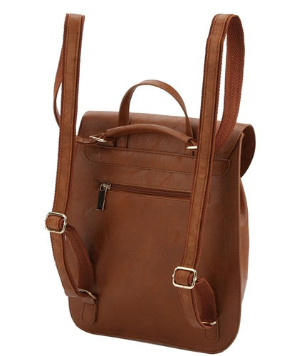 Chic Rounded Backpack