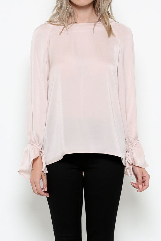 Classy Bell Sleeve Blouse