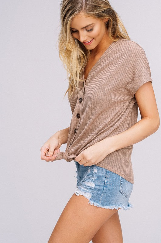 Summer Knotted Top