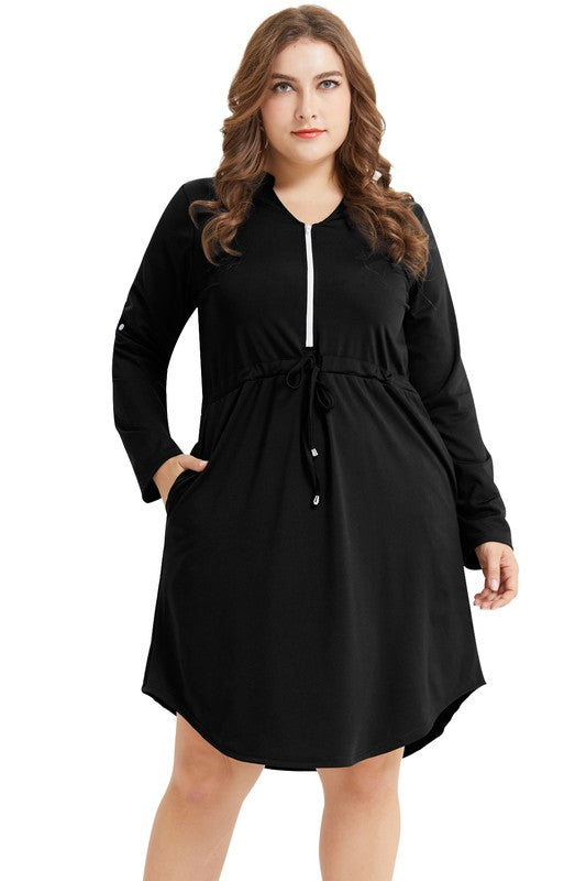 Carla Casual Dress in PLUS