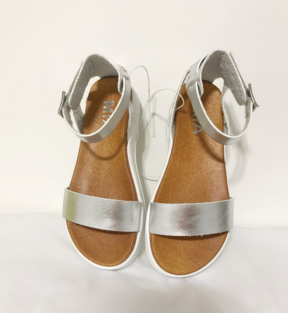 MIA Girls Sandals in Silver