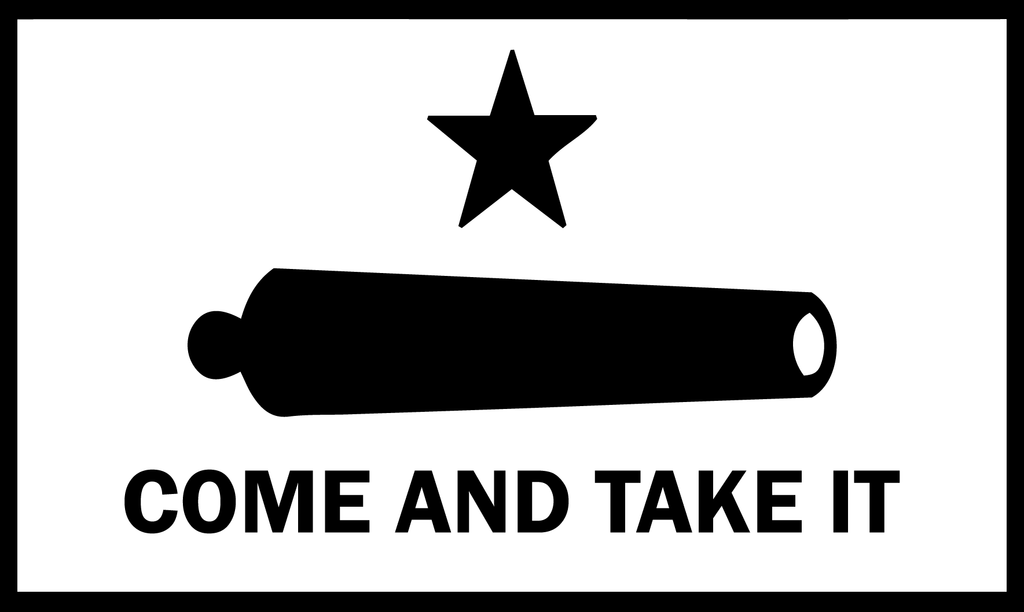 Come And Take It Flag Decal