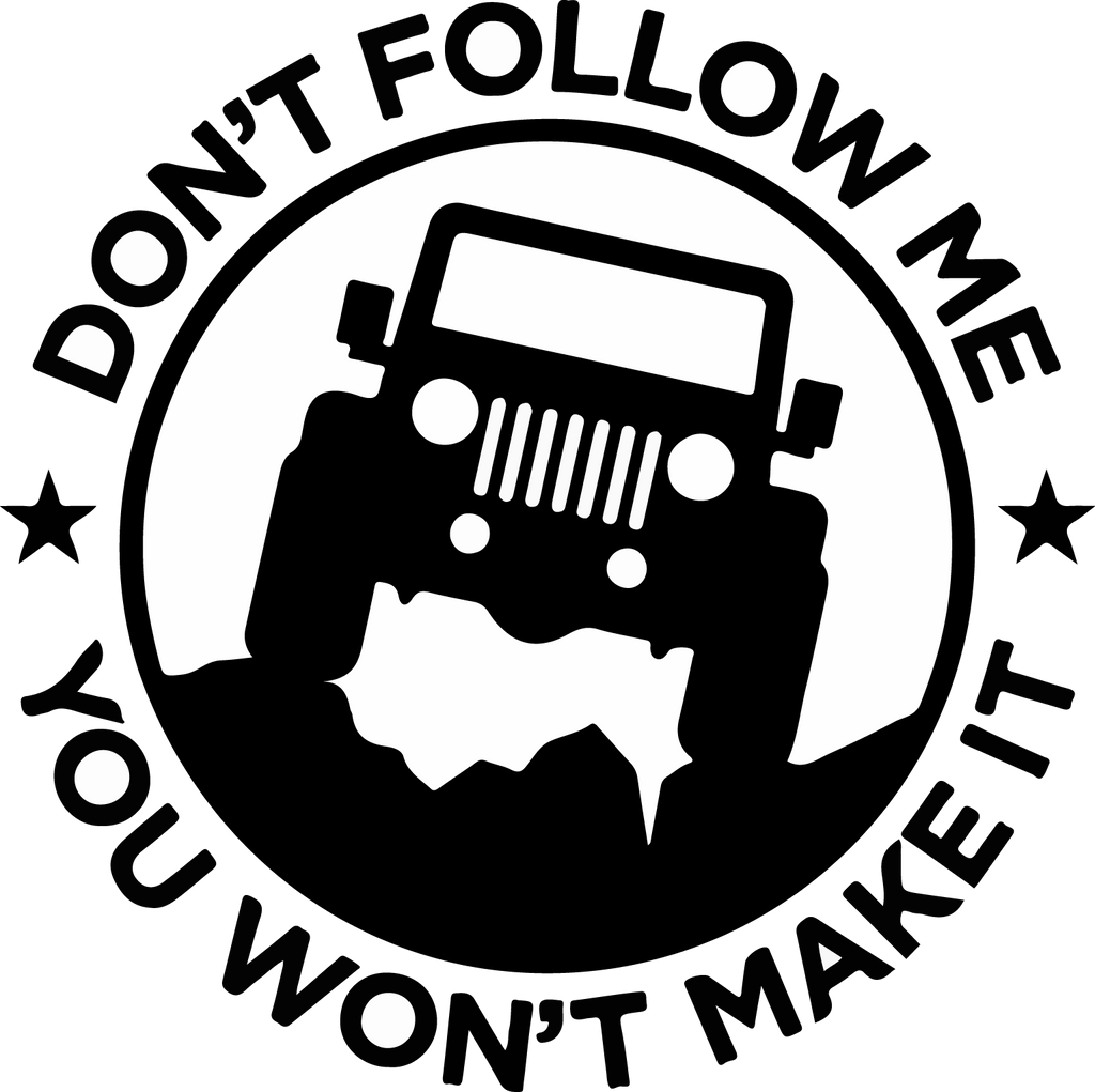 100 Jeep Decal Rocksteady Jeep Decal Jeep Decals
