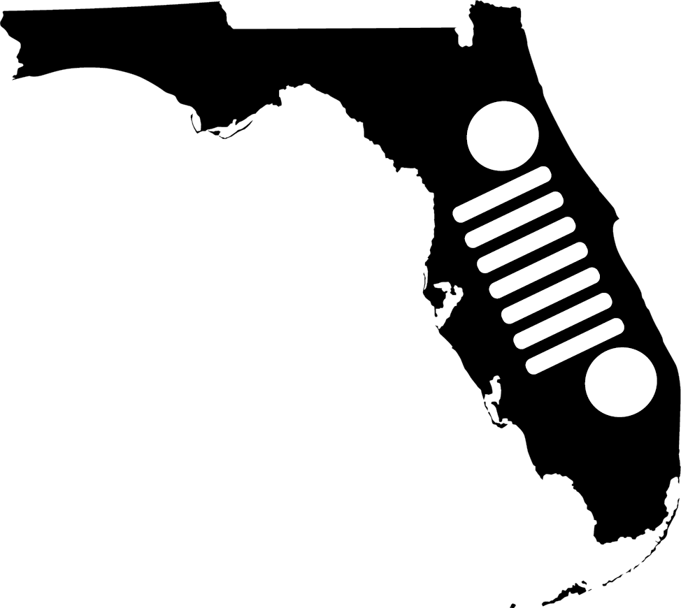 Florida Grille Decal