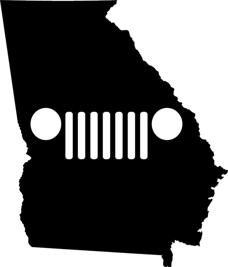 Georgia Grille Decal