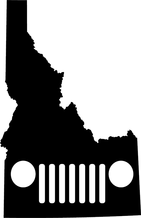 Idaho Grille Decal