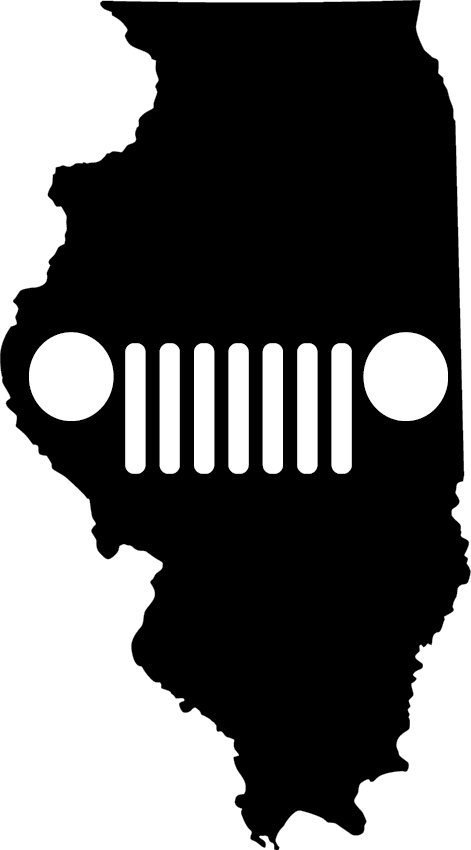 Illinois Grille Decal