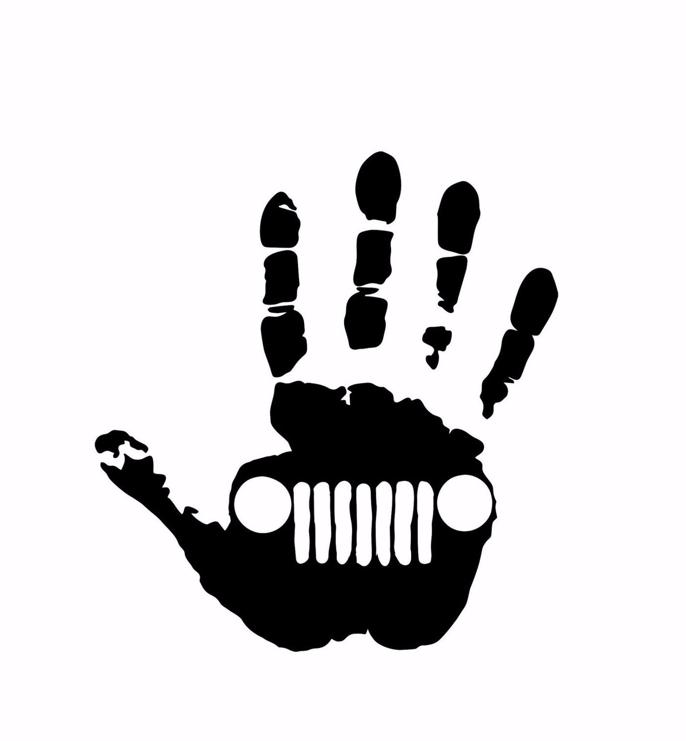 Jeep Wave Decal Trail Decals