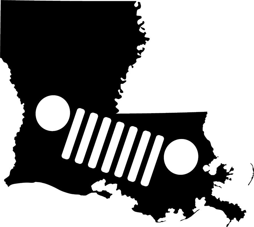 Louisiana Grille Decal