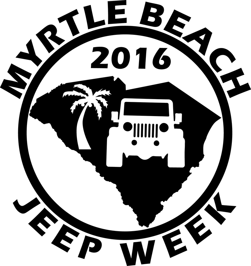Myrtle Beach Jeep Week Decal