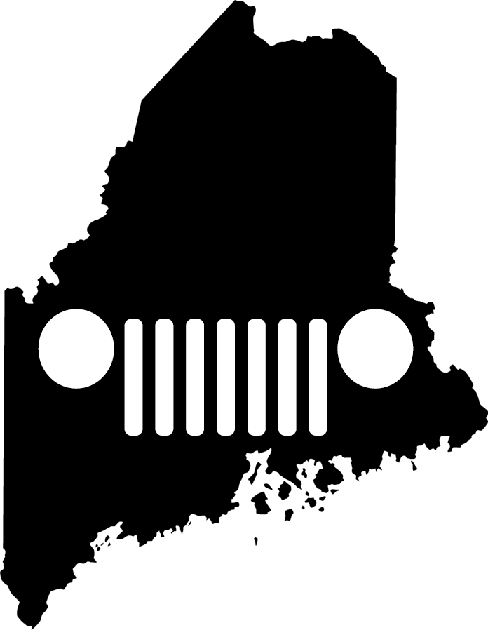 Maine Grille Decal