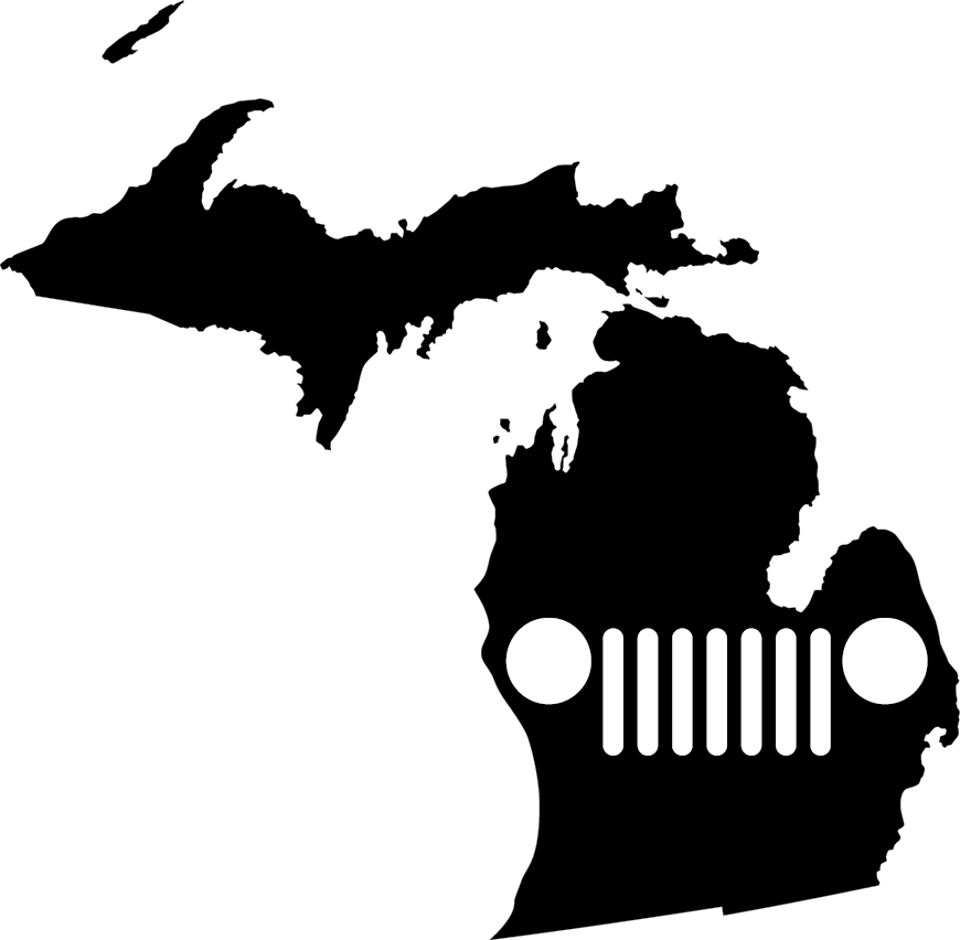 Michigan Grille Decal