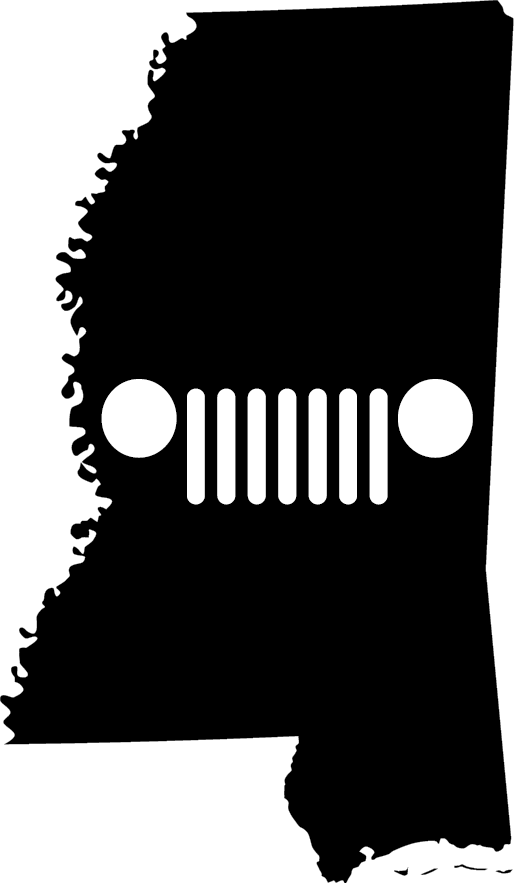 Mississippi Grille Decal